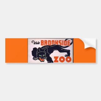 Vintage Black Panther bumper sticker