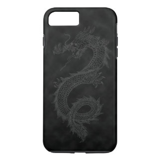 Vintage Black Smoke Dragon iPhone 7 Plus Case