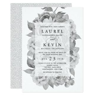 Black and White Wedding Invitations 17100 Black and White