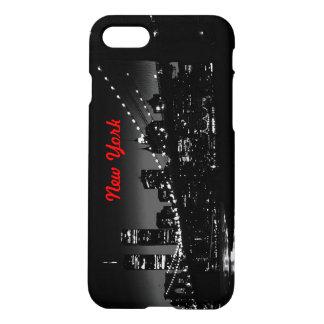Vintage Black White New York City iPhone 7 Case