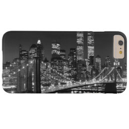 Vintage Black White New York iPhone 6 Plus Case
