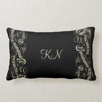Vintage blackboard lettering illustration -Pillow Pillow