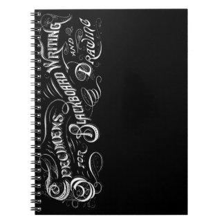 Vintage Blackboard Lettering - Notebook