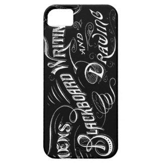 Vintage Blackboard Writing Illustration Lettering iPhone SE/5/5s Case