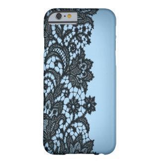 Vintage blackLace aqua Paris fashion iPhone5case iPhone 6 Case