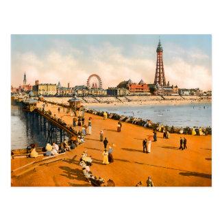 Vintage Blackpool Lancashire England Postcard