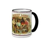 Vintage BLACKSMITH Image on Mug HONEST LABOR