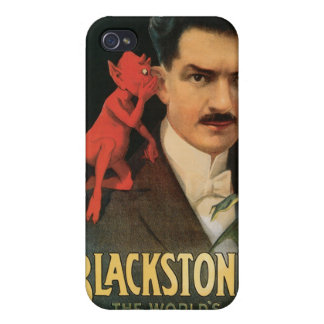 Vintage Blackstone The World's Master Magician Covers For iPhone 4