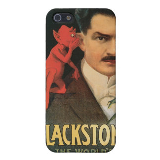 Vintage Blackstone The World's Master Magician Cases For iPhone 5