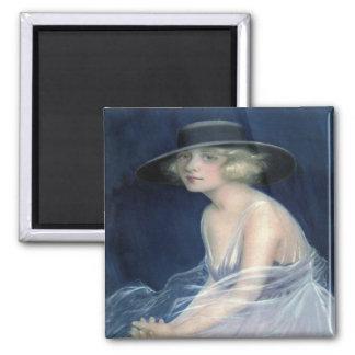 Vintage Blanche Sweet Magnet