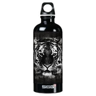 Vintage blanco y negro del tigre