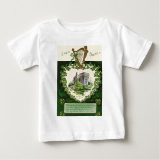 Vintage Blarney Castle Harp of Erin St Patrick's Baby T-Shirt