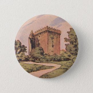 Vintage Blarney Castle Pinback Button