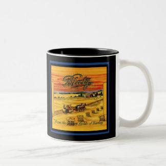 Vintage Blatz Beer Two-Tone Coffee Mug