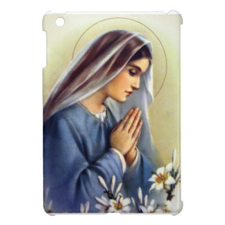 Vintage  Blessed Mother Our Lady iPad Case