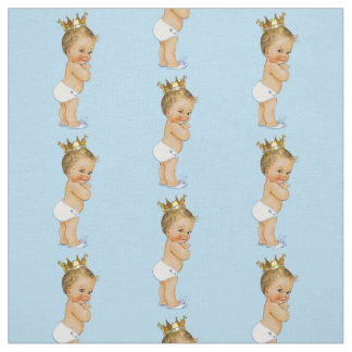 Vintage Blonde Little Prince Fabric