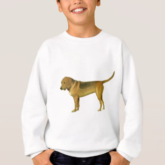Vintage Blood Hound Illustration Sweatshirt