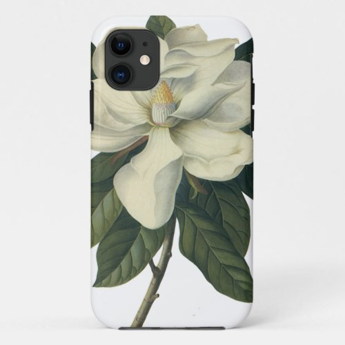 Vintage Blooming White Magnolia Blossom Flowers Phone Case