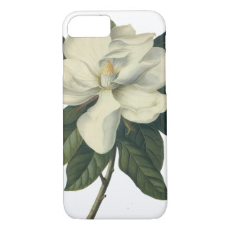 Vintage Blooming White Magnolia Blossom Flowers iPhone 8/7 Case