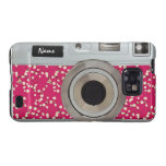 Vintage blossom pattern camera galaxy SII covers