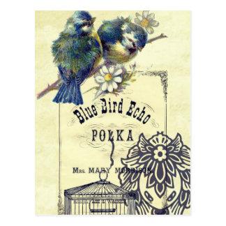 Vintage Bird Postcard 83
