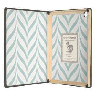 VINTAGE BLUE CHEVRON WAVES PATTERN IPAD DODO CASE iPad AIR CASE
