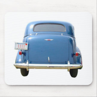 VINTAGE BLUE CHEVY MOUSE PAD
