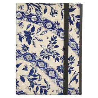 Vintage Blue Chinese Art Cover For iPad Air