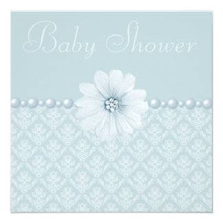 diamonds and pearl baby shower invitations announcements
