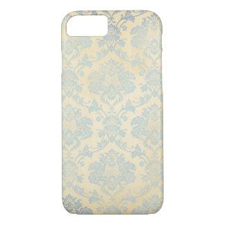 Vintage Blue Damask iPhone 7 Case