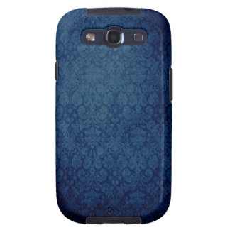 Vintage Blue Damask Samsung Galaxy Case Galaxy S3 Case