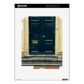 Vintage Blue Door, Architecture Skins For The iPad 2