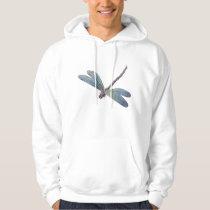 Vintage Blue Dragonfly Hoodie