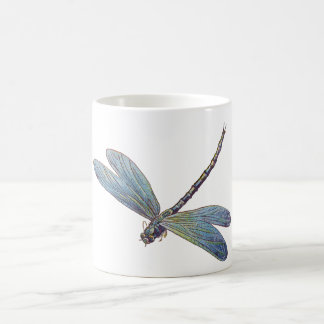 Vintage Blue Dragonfly Mugs