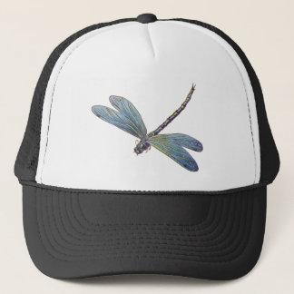 Vintage Blue Dragonfly Trucker Hat