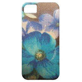 Vintage Blue Floral Pattern
