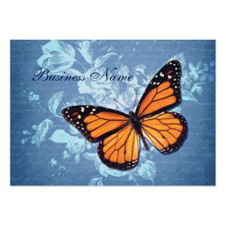 Vintage Blue Flowers Business Cards