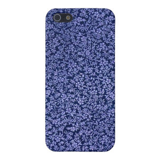 Vintage Blue Flowers iPhone 5 Covers