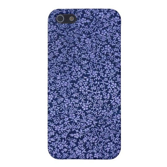 Vintage Blue Flowers iPhone SE/5/5s Case