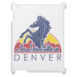 Vintage Blue Horse Denver Logo iPad Covers