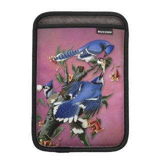 Vintage Blue Jays Illustration (Audubon) Sleeve For iPad Mini