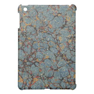 Vintage Blue Marbled Texture  Case For The iPad Mini