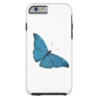 Vintage Blue Morpho Butterfly Customized Template iPhone 6 Case
