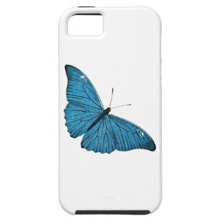 Vintage Blue Morpho Butterfly Customized Template iPhone 5 Case