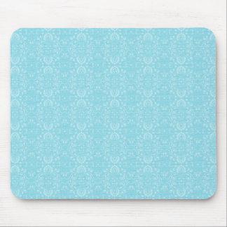 Vintage Blue Pattern Mouse Pad