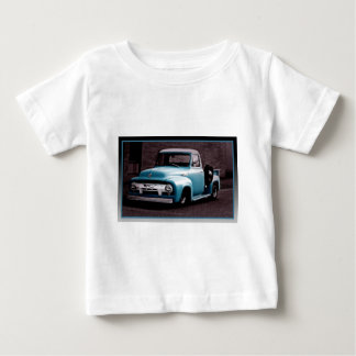 Vintage Blue Pickup Truck Baby T-Shirt