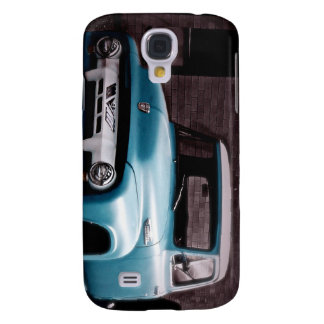 Vintage Blue Pickup Truck Samsung Galaxy S4 Cover