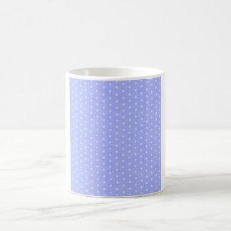 Vintage Blue Polka Dot Mug