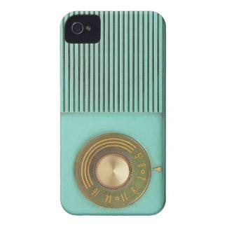 Vintage Blue Radio Phone Case iPhone 4 Case-Mate Case