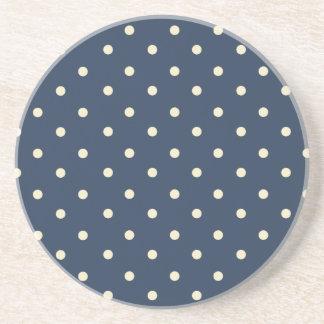 Vintage Blue Sandstone Coaster
